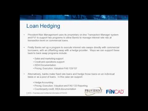 An Introduction to Interest Rate Hedging for Banks
