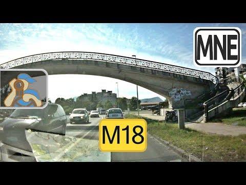 Crna Gora. M18. Podgorica - Danilovgrad