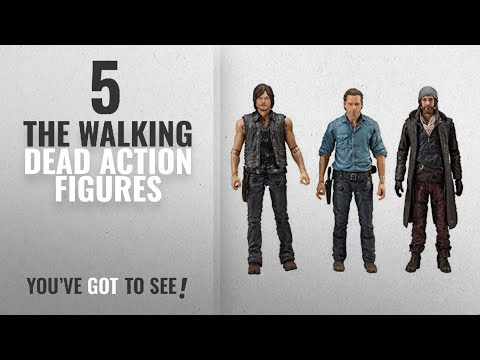Top 10 The Walking Dead Action Figures [2018]: McFarlane Toys The Walking Dead Allies Deluxe Box