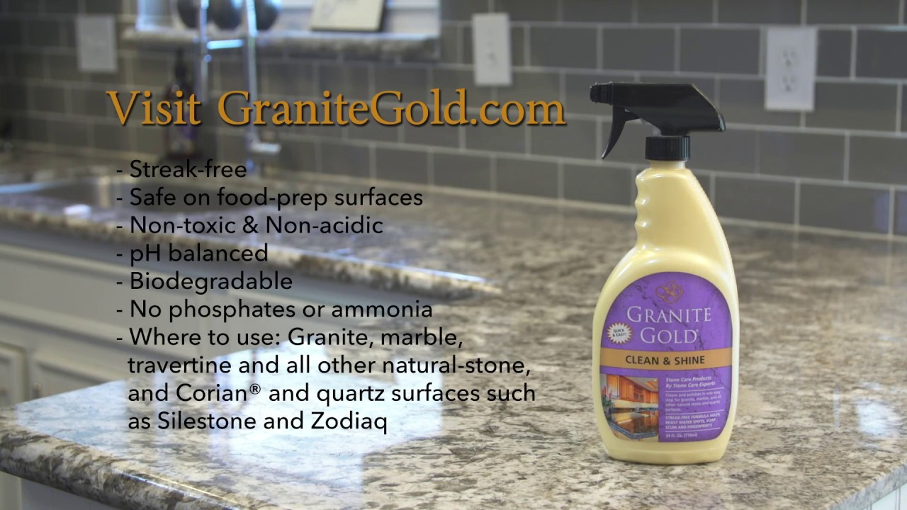 Granite Gold Clean Shine