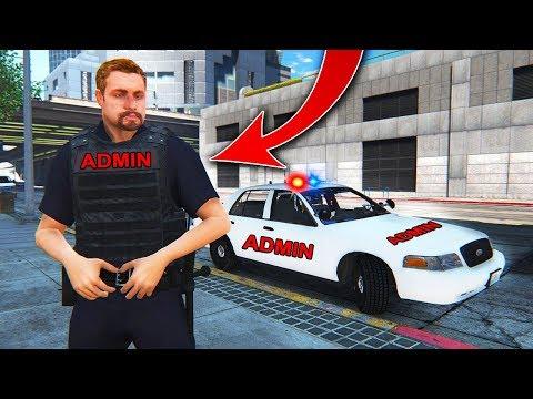 GTA 5 RP but I'm an Admin... thumbnail