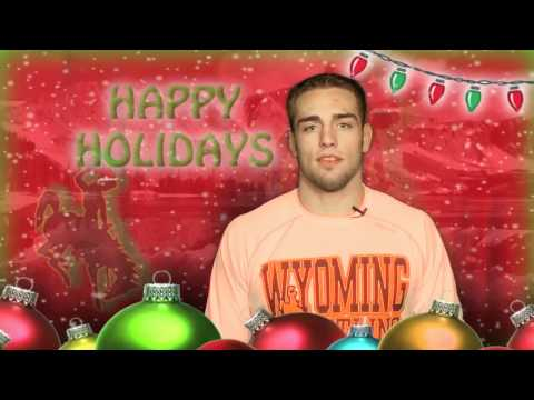 "Wyoming Athletics ""Happy Holidays"""