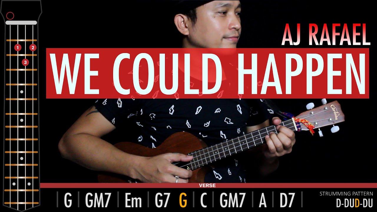 🎸❤️ We Could Happen   Aj Rafael   Cover + Tabs + Chords