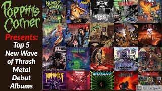 PC | Top 5 Debut New Wave of Thrash Metal Albums