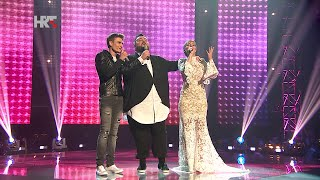 "Jacques, Nina i Dino: ""True Colors"" - The Voice of Croatia - Season1 - Live5"
