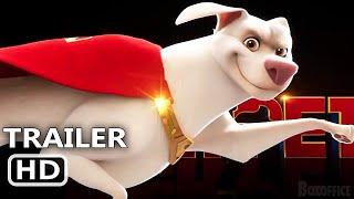DC LEAGUE OF SUPER-PETS Teaser (2022) Dwayne Johnson, Keanu Reeves