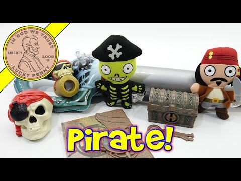Pirates Of The Caribbean 2006 McDonald's Happy Meal Fast Food Kids Toys