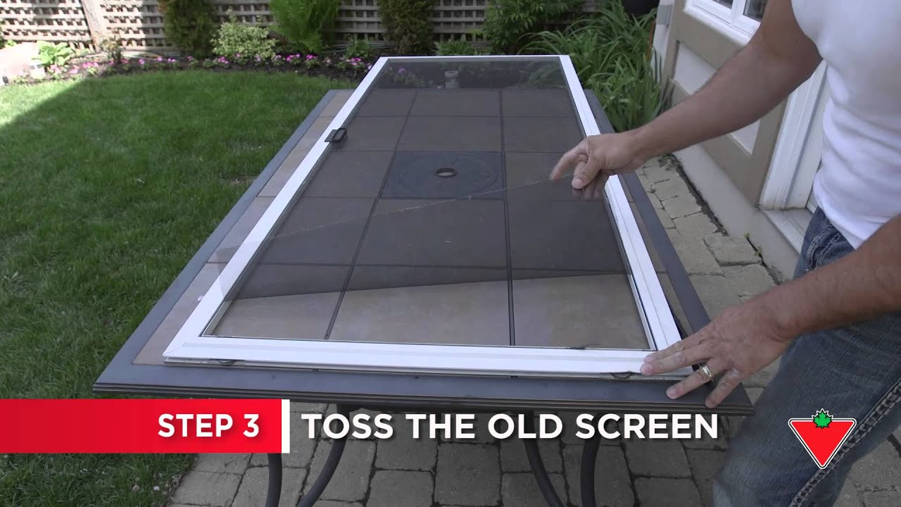 How To Repair A Screen Door 8 Steps Youtube