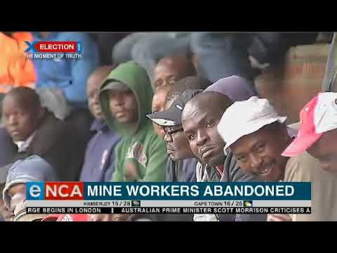 Mine Workers Abandoned