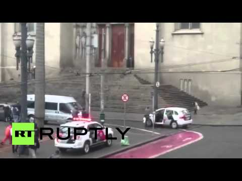 Brazil: Deadly shooting on steps of Sao Paulo Cathedral