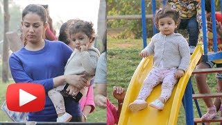 Shahid's Daughter Misha Kapoor Enjoying At Park, FIRST Play Date Moments