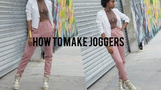 How To Make Joggers