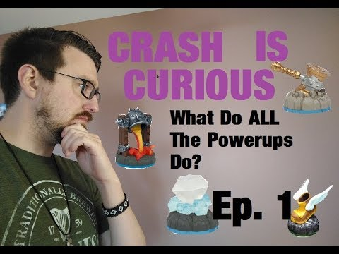 WHAT DO ALL THE POWERUPS DO? | Crash Is Curious - Ep. 1