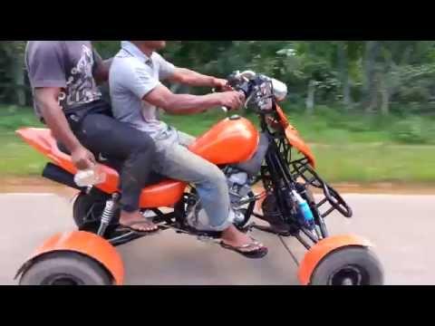 Xe 4 bánh chế đôc Việt Nam