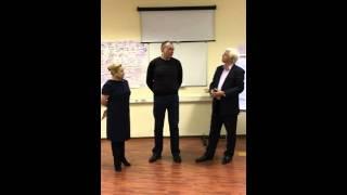 Отзыв на заключительном модуле организационного коучинга в Международной Школе Коучинга и Развития