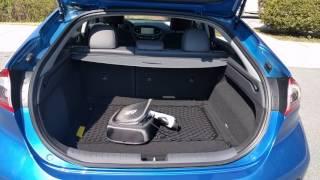 Hyundai Ioniq EV review - trunk space