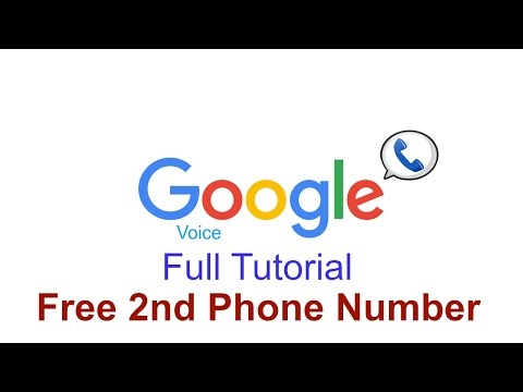 How To Get A Free 2nd Phone Number (feat. Google Voice)