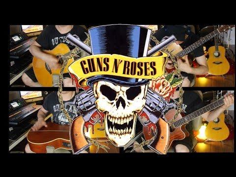 Guns N' Roses – November Rain Solo on Acoustic Guitar by Fabio Lima