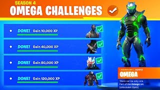 Fortnite OMEGA CHALLENGES COMING BACK in Season 8! (MAX OMEGA SKIN COLORS)