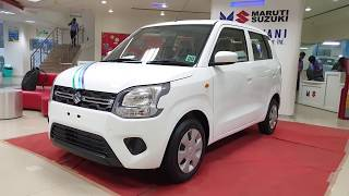 2019 Maruti Suzuki Wagon R Superior white|Exterior and Interior in 4K 60FPS