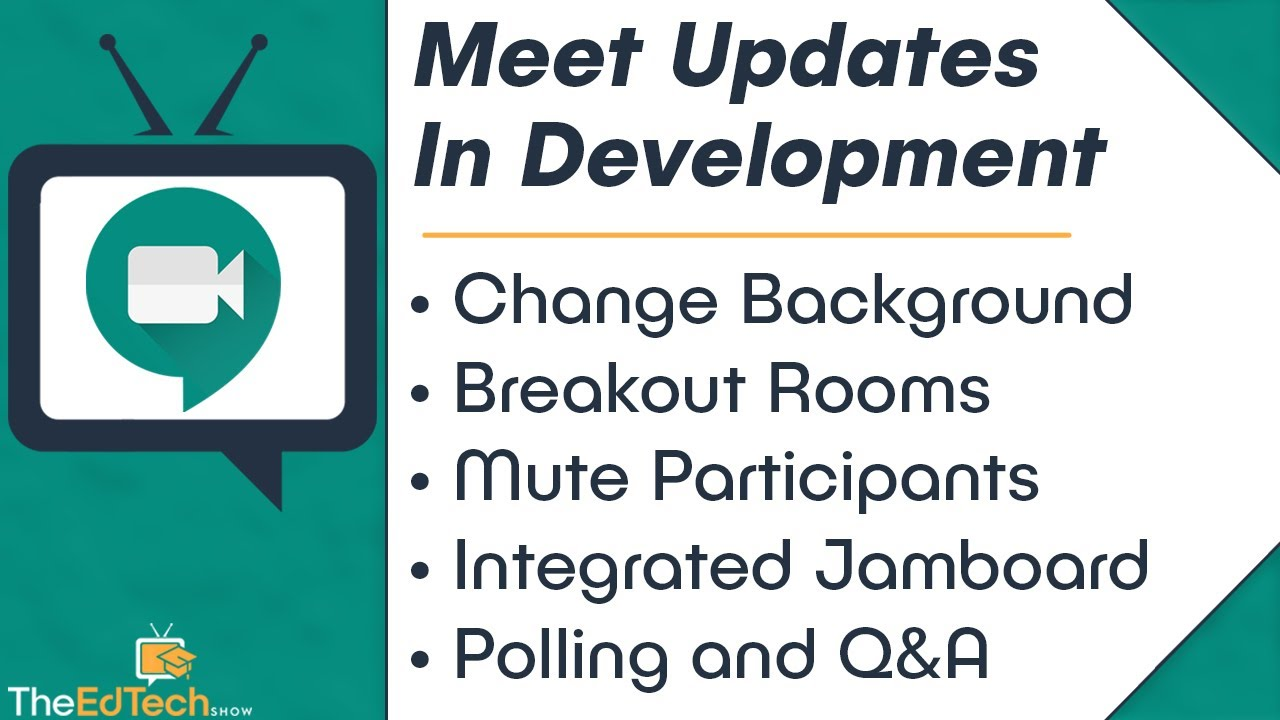 Google Meet Updates In Development - Change Background Image, Breakout Rooms, Polling, Q&A, and More
