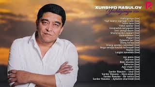Xurshid Rasulov - Yoshligimga nomli jonli ijro albom dasturi 2021