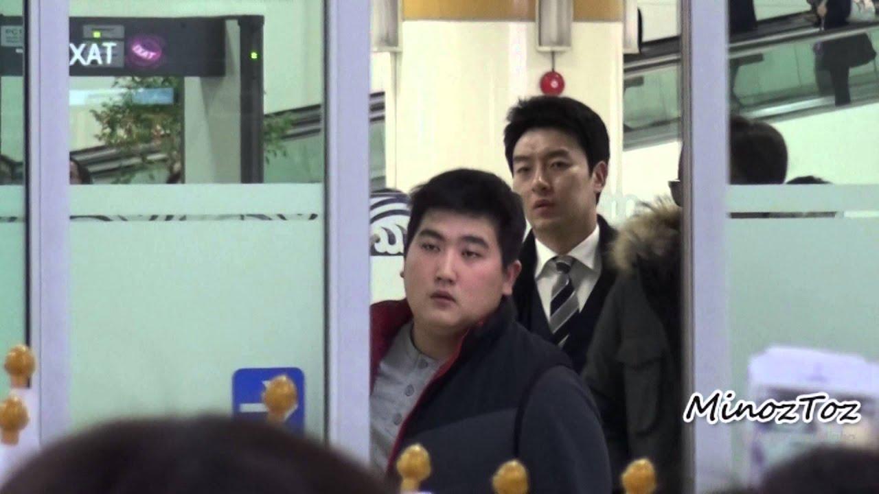[직캠] 20141230 Kimpo Airport 입국 LEE MIN HO by. MinozToz