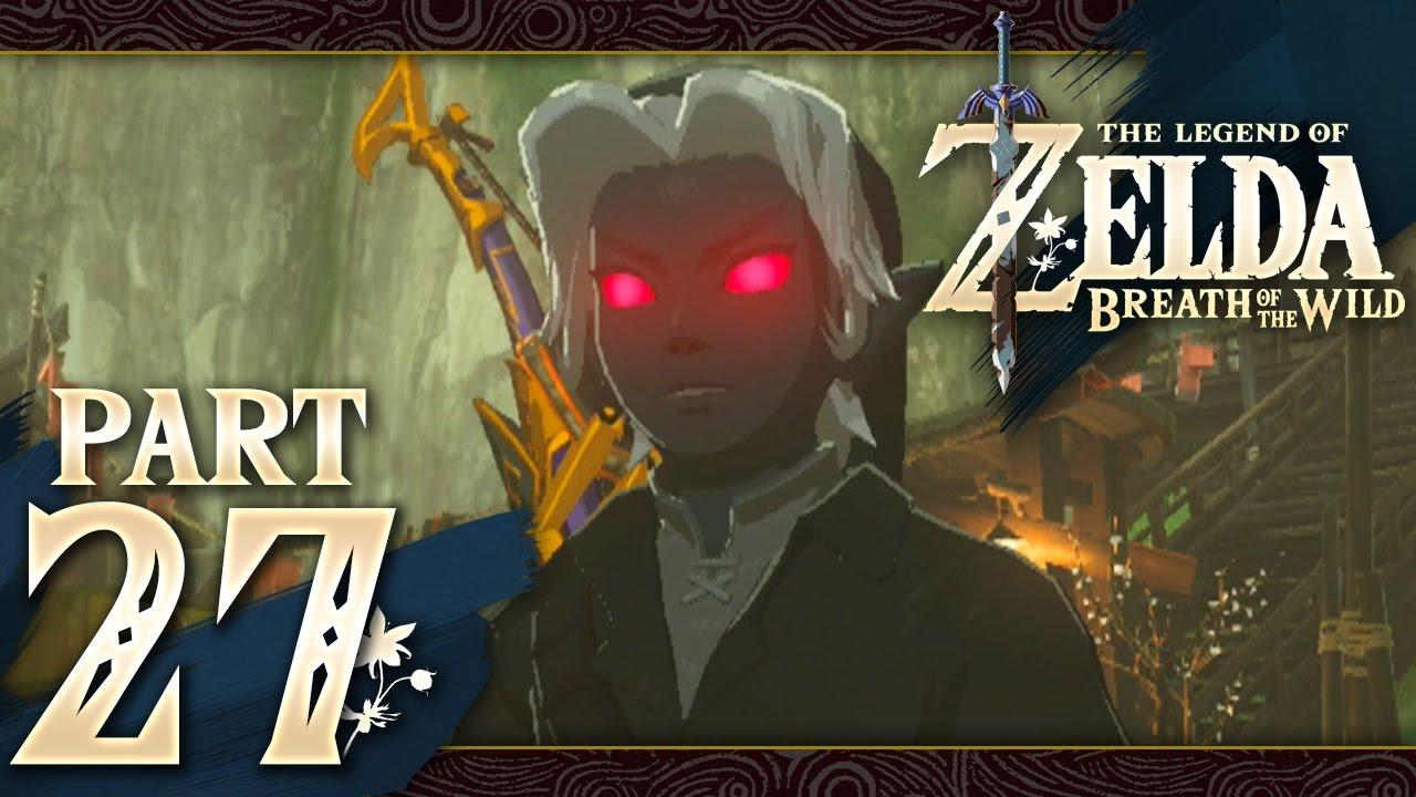 Breath Of The Wild Dark Link >> The Legend Of Zelda Breath Of The Wild Part 27 Dark Link Set