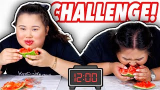 SPEED EATING CHALLENGE! | MUKBANG 먹방 EATING SHOW!