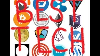 Top 6 Cryptocurrencies With the Best Technology, So Far.....