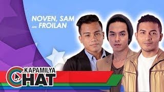 Kapamilya Chat with Noven Belleza, Sam Mangubat and Froilan Canlas for TNT All-Star Showdown Concert