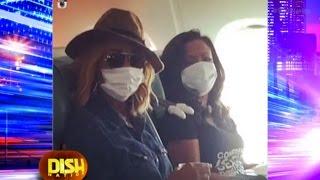 Kandi Burruss And Cynthia Bailey Mask Up Against Ebola