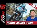 Honda Africa Twin Adventure Sports Dauerteststart 2020
