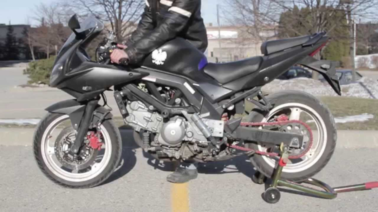 Diy Semi Automatic Motorcycle Gear Shifter Sv650 Youtube