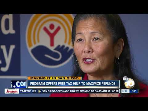 Making it in San Diego: Tax coalition offers free help to maximize refunds