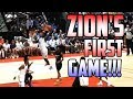 Download ZION WILLIAMSON's FIRST GAME AT DUKE!!!