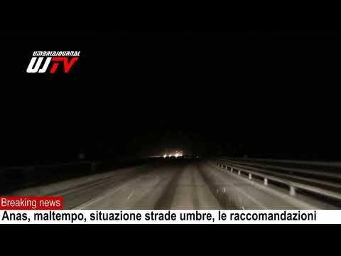 Anas, maltempo Centro Italia, il video dela situazione in Umbre