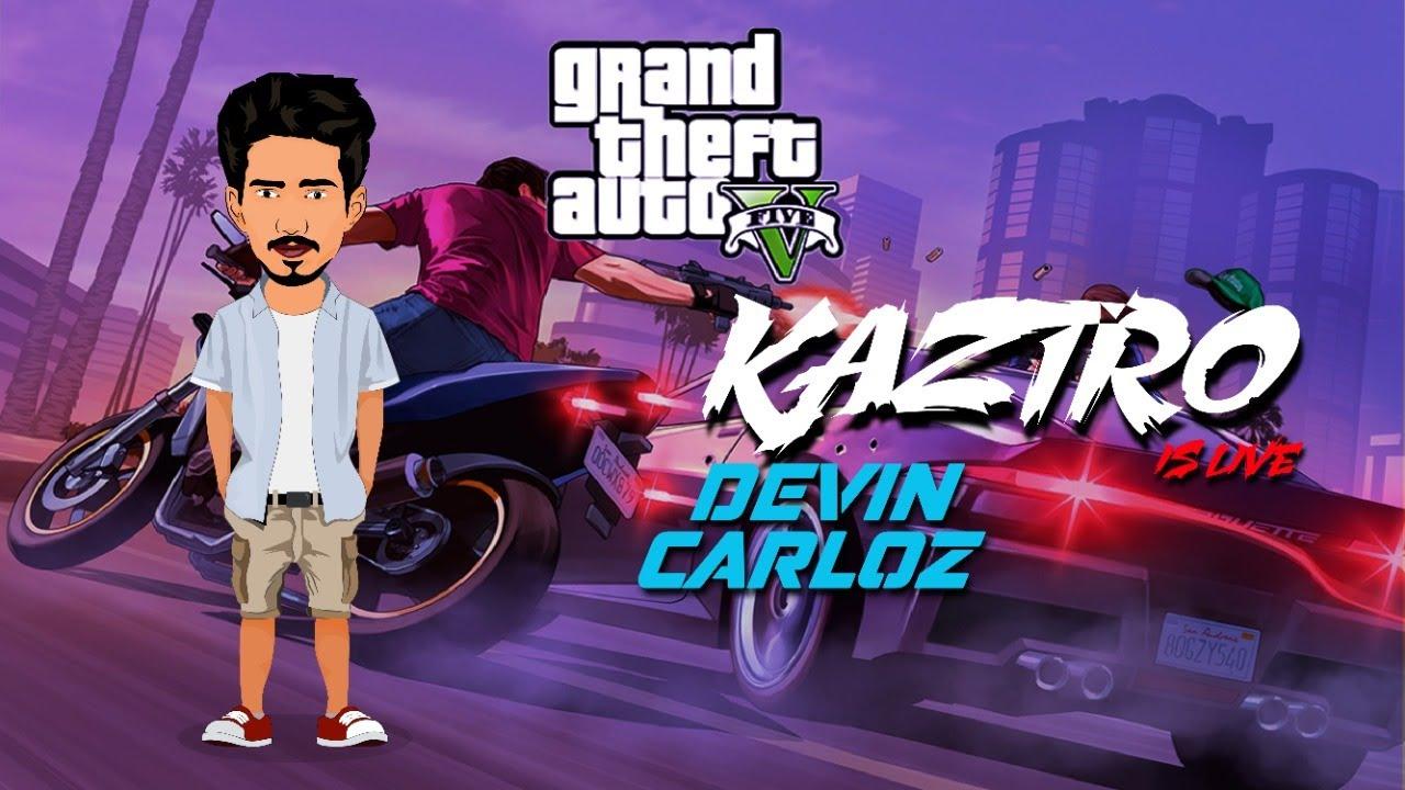 Kaztro as Devin Carloz  - MORP Kaztro Gaming Live