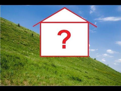 Строительство дома на склоне. Часть 1.