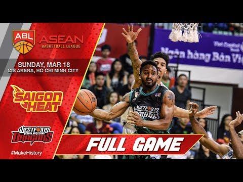 Saigon Heat vs Westports Malaysia Dragons | FULL GAME | 2017-2018 ASEAN Basketball League