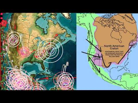 11/30/2017 -- EAST COAST USA Large M5.1 (M4.4) Earthquake -- Direct EQ forecast area hit