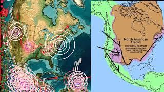 11/30/2017 -- EAST COAST USA Large M5.1 (M4.4) Earthquake -- Direct EQ forecast area hit