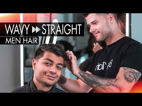 Smooth Slick Back Hairstyle - Men's Hair Transformation thumbnail