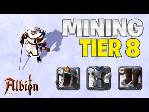 How I Reached TIER 8 Mining | Albion Online (2019)