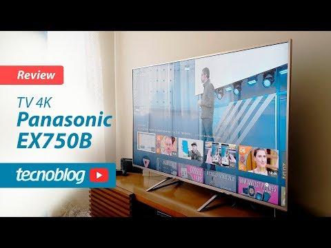TV Panasonic EX750B - Review Tecnoblog