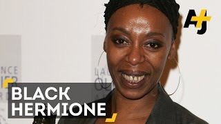 Black Hermione Cast In Harry Potter And The Cursed Child