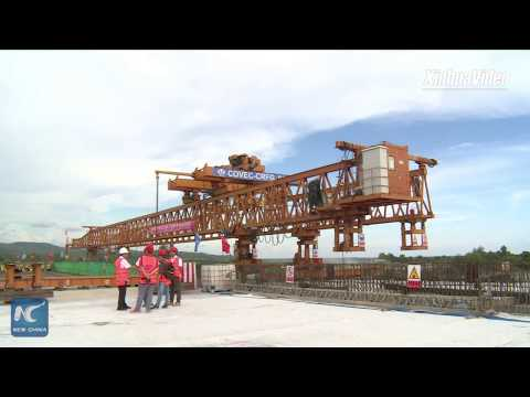 Chinese firm builds first expressway for Timor-Leste