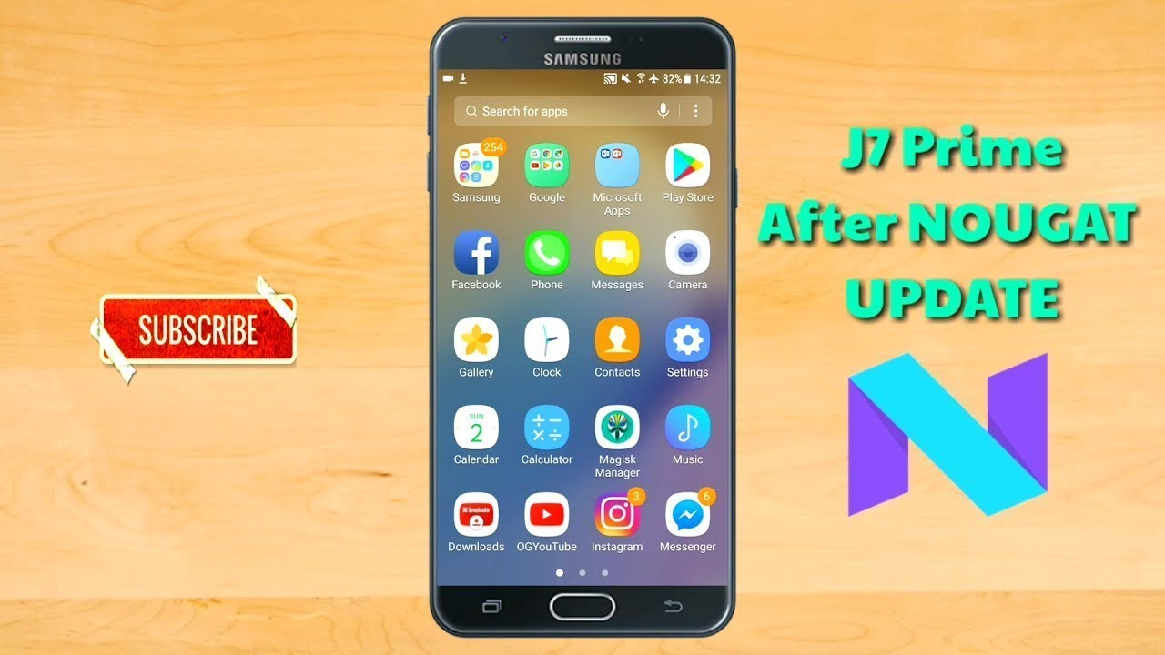 How to download Samsung Galaxy J7 Prime Android 7 0 Nougat