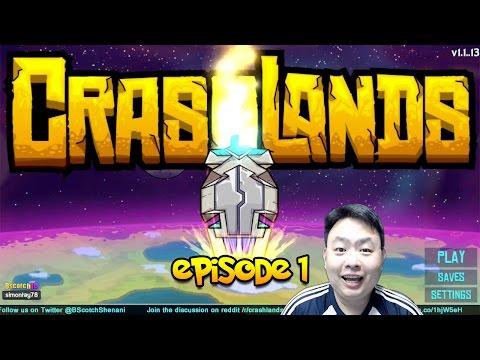 Crashlands (iOS/Android) - Episode 1 - The beginning