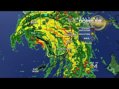 Tracking Hurricane Irma 9/10 2PM